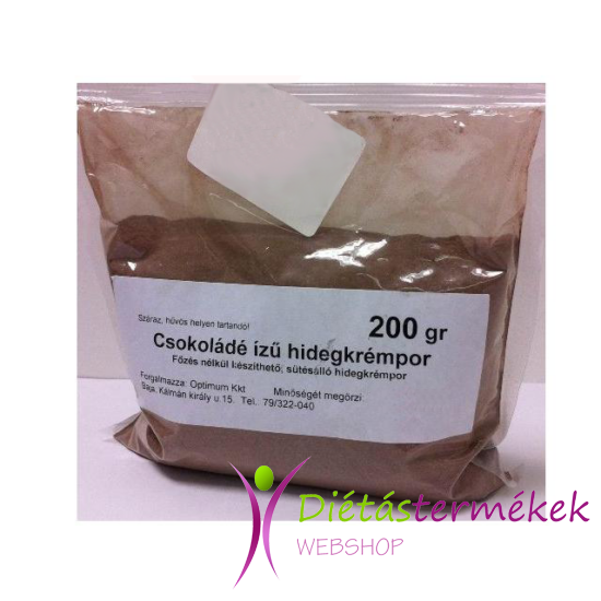 Mester hidegkrémpor csoki 200 g