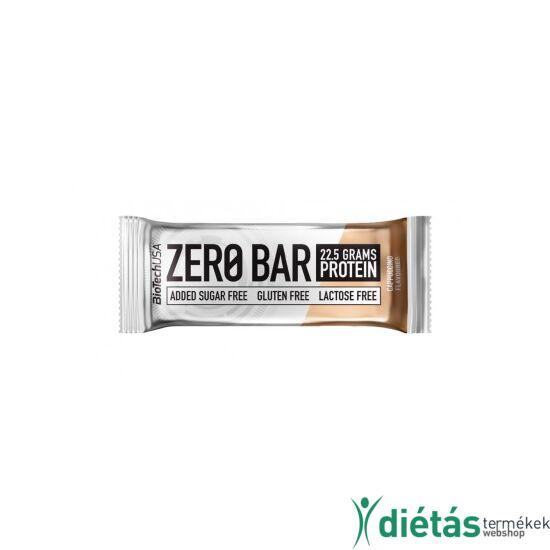 ZeroBar fehérjeszelet cappuccino 50 g