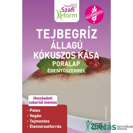 Szafi Reform tejbegríz állagú kókuszos kása poralap édesítőszerrel 250 g (paleo, vegán, gluténmentes, tejmentes)