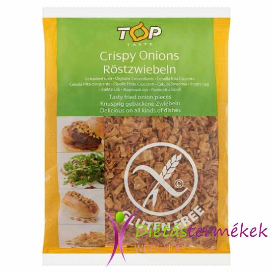 Top Taste sült ropogós gluténmentes hagyma 200 g