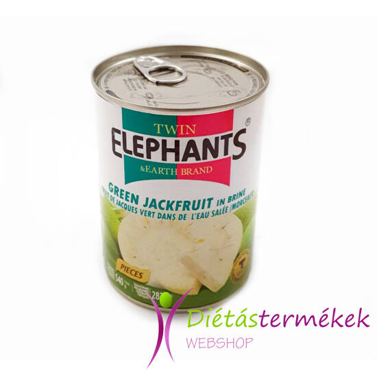 Twin Elephants Zöld Jackfruit 540 g