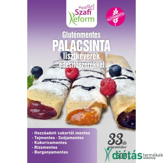 Szafi Reform gluténmentes, szénhidrátcsökkentett palacsinta lisztkeverék (PALEO) 500 g