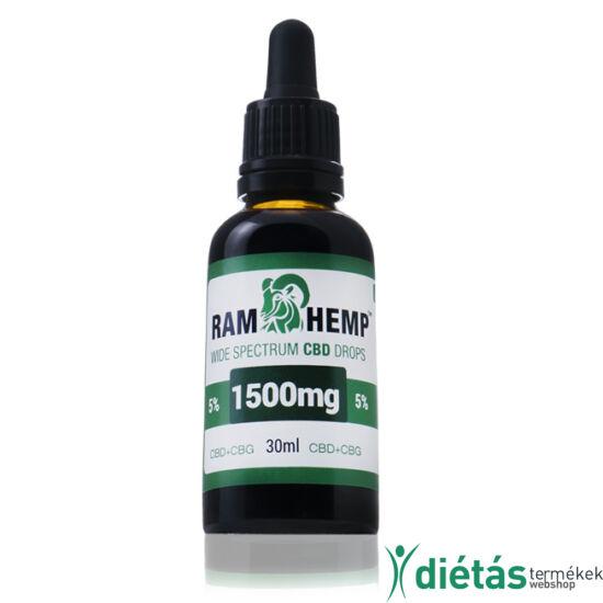 RAMHEMP 1500mg CBD olaj 30ml