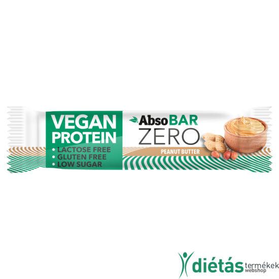 AbsoBar Zero mogyoróvaj ízű fehérjeszelet 40g