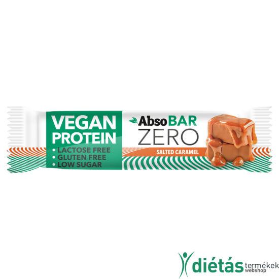 AbsoBar Zero sós karamell ízű fehérjeszelet 40g