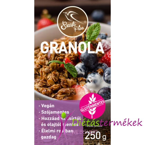 Szafi Free granola (gluténmentes) 250g