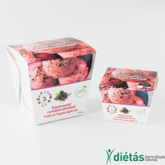 ALL IN Feketeszeder jégkrém csokidarabokkal (paleo, vegán, gluténmentes, tejmentes) 120g
