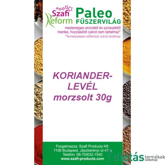 Szafi Reform Paleo Korianderlevél morzsolt 30 g