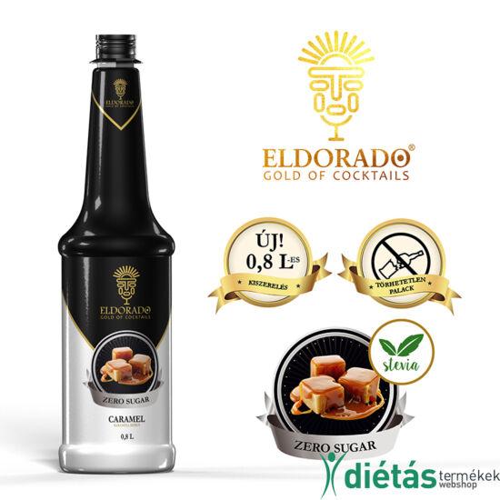 Eldorado cukormentes karamell szirup 0,8 liter