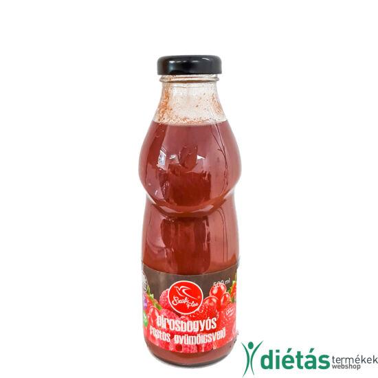 Szafi Free pirosbogyós rostos gyümölcsvelő 500ml