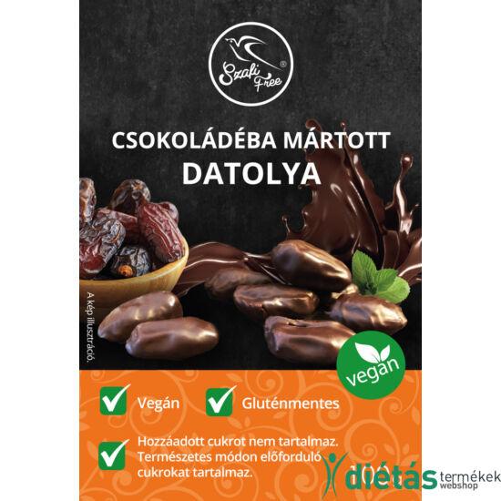 Szafi Free csokoládéba mártott datolya 100g