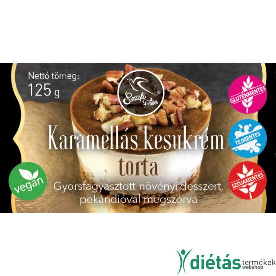 Szafi Free Karamellás kesukrém torta (gluténmentes) 125g