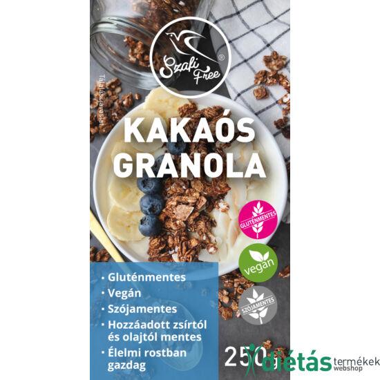 Szafi Free kakaós granola (gluténmentes) 250g