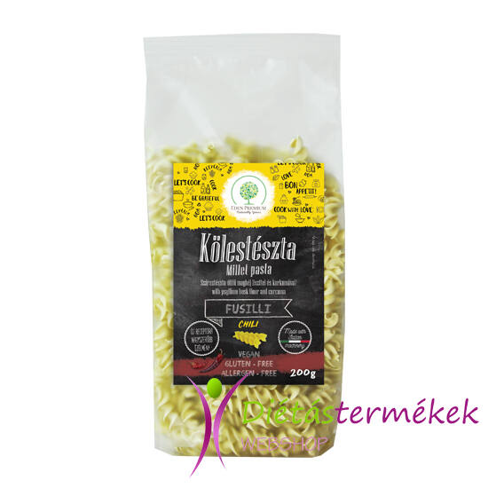 Éden Prémium kölestészta orsó chili (vegán) 200 g
