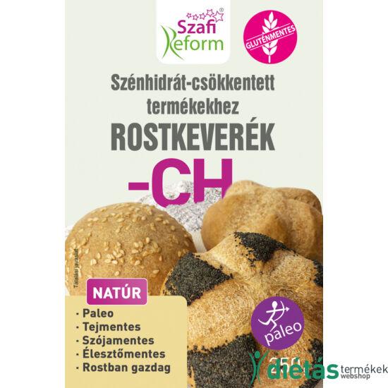 Szafi Reform Szénhidrát-csökkentett termékekhez rostkeverék 250 g (paleo, gluténmentes)