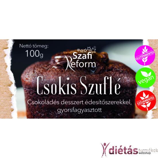 Szafi Reform Csokis szuflé (gluténmentes) 100g