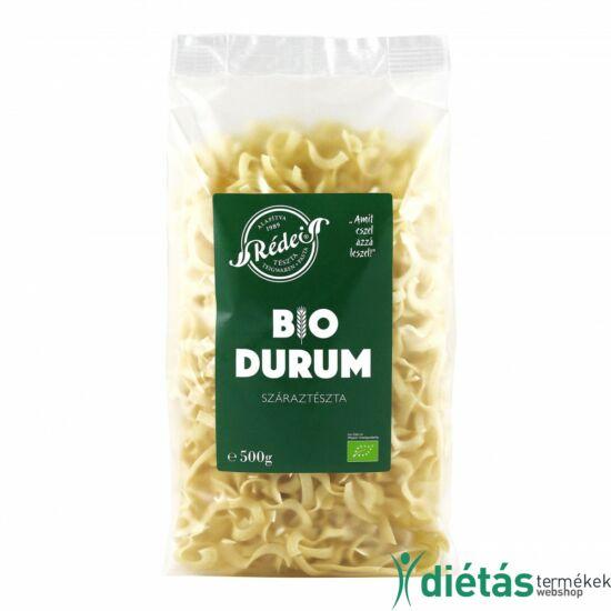 Rédei bio tészta durum fehér szélesmetélt (tojásmentes, vegán) 500 g