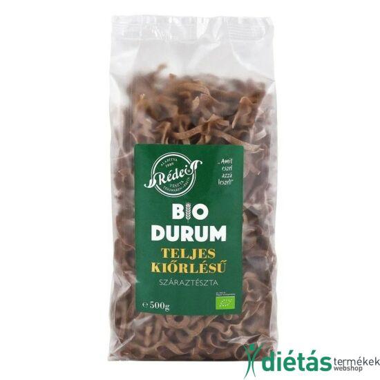 Rédei bio tészta durum barna szélesmetélt (tojásmentes, vegán) 500g