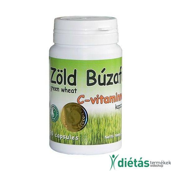 Dr. Chen zöld búzafű kapszula C-vitaminnal 90db