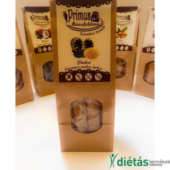 Primus paleo sós keksz szezámos-mákos 80 g