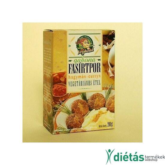 Vegabond gabona fasírtpor hagymás-curry 200 g