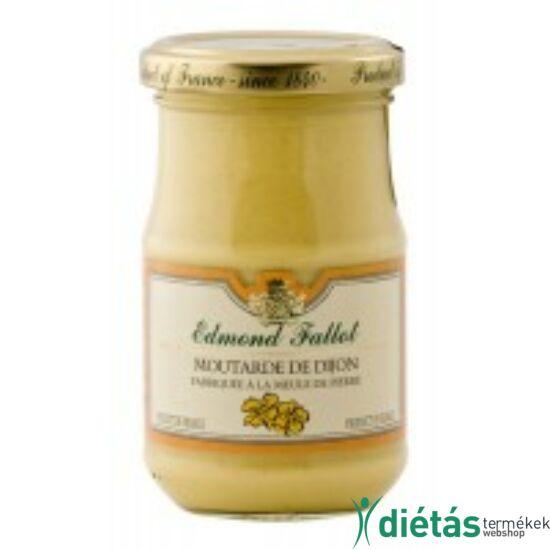 E.F. dijoni hozzáadott cukormentes mustár 210 g