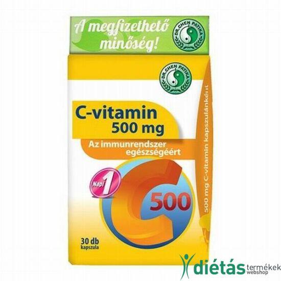 Dr.Chen C-vitamin 500 kapszula 30db