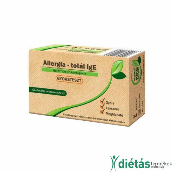 Allergia vizsgálathoz otthoni gyorsteszt 1db