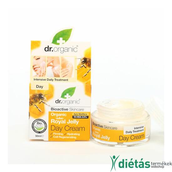 Dr.Organic BIO méhpempő nappali arckrém 50 ml