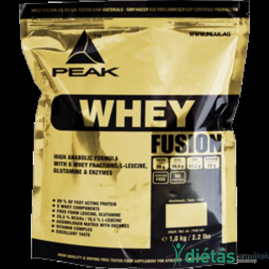 Whey Fusion fehérjepor 1000 g - CSOKI