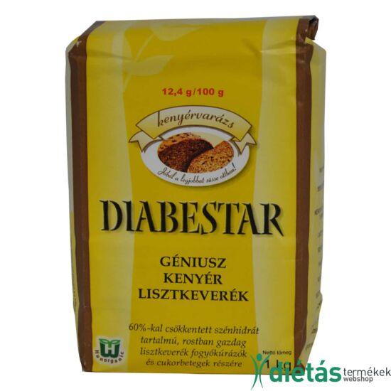 DIABESTAR Géniusz kenyérliszt 1 kg