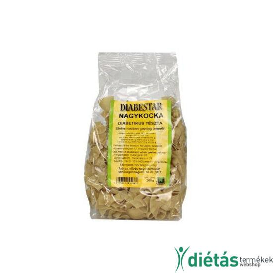DIABESTAR NAGYKOCKA tészta 200 g