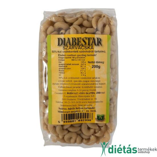 DIABESTAR SZARVACSKA tészta 200 g