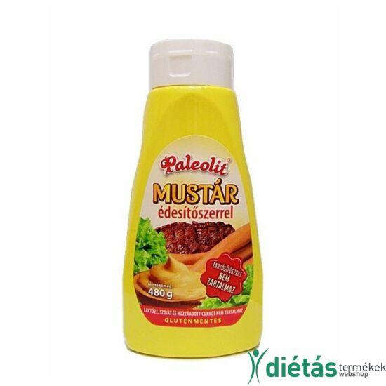 Paleolit Mustár (hozzáadott cukormentes, tejmentes, tojásmnetes, gluténmentes) 480 g