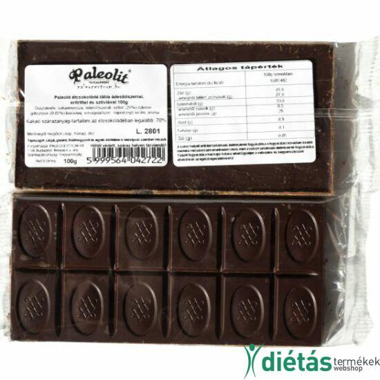 Paleolit étcsokoládé tábla 100 g