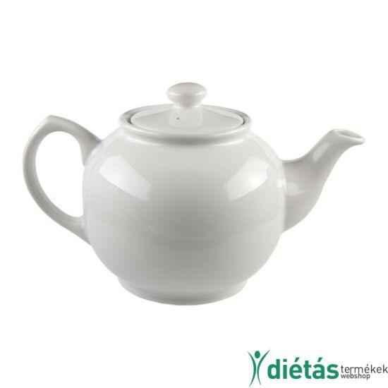 Annaburg teáskanna porcelán - fehér 1,2 L