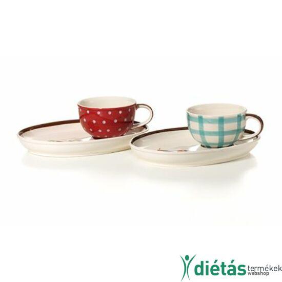 Anneke tea csésze alátéttel